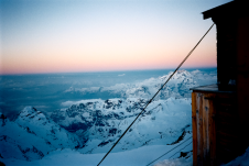 Sunrise at Piz Bernina